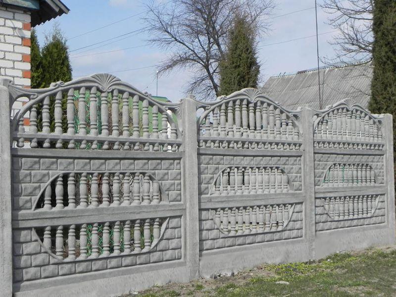 ограда открытая