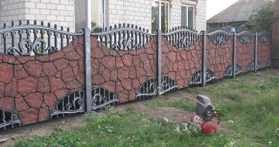 забор в михайловке