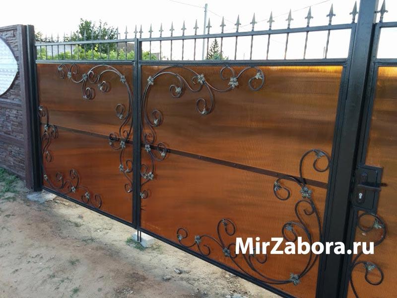 Купить ворота из металла