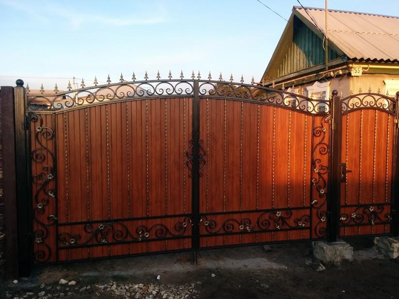 Ворота в Михайловском районе
