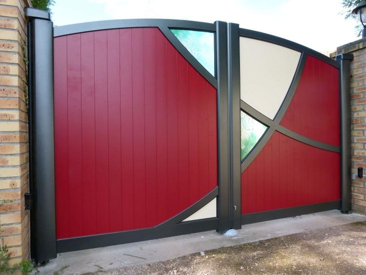 Ворота установка